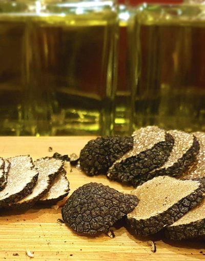 menu truffle