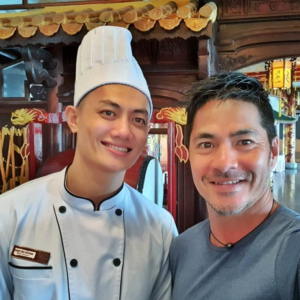 With Chef @Nguyen Chi Thanh @ Huong Giang Hotel Resort & Spa