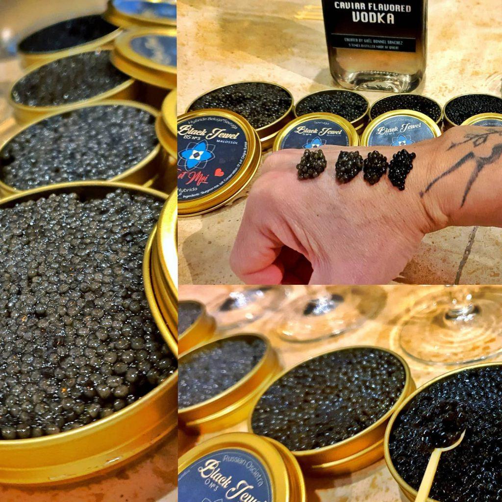 Dégustation de caviar avec @caviar_black_jewel